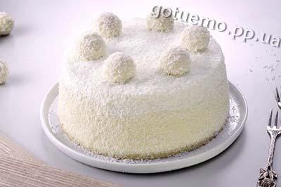 рецепт торт рафаэлло
