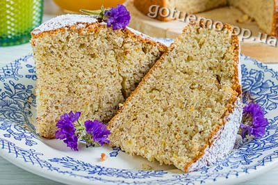 рецепт мигдального пирога