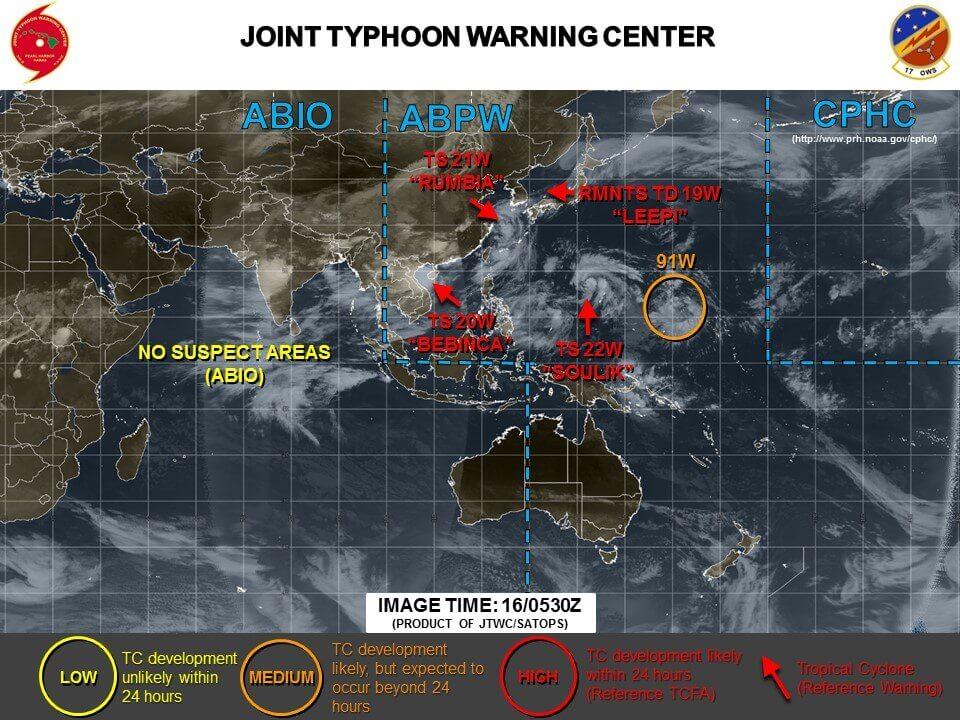 台風19号米軍やヨーロッパの進路予想