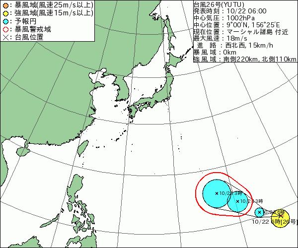 台風26号2018米軍とヨーロッパの最新情報