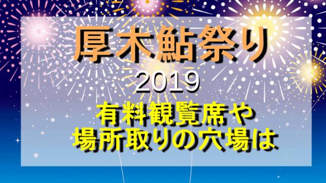 花火大会厚木鮎祭り