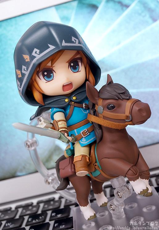 Link Nendoroid Zelda Breath of the wild 1