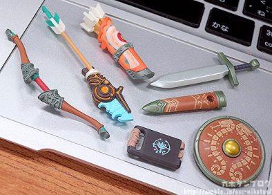 Link Nendoroid Zelda Breath of the wild Armes 1