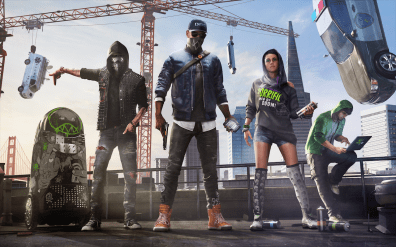 Watch dogs 2 team