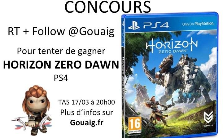 gagnant de Horizon Zero Dawn