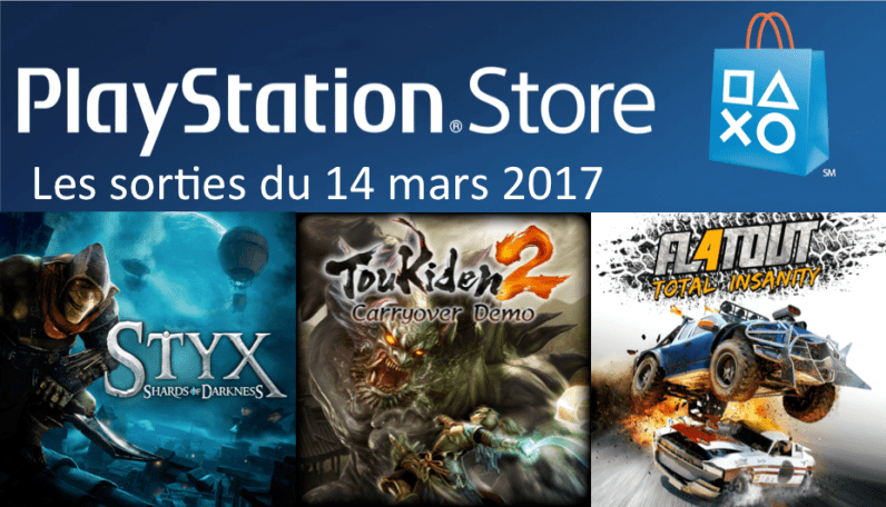 MAJ Playstation Store 14 mars