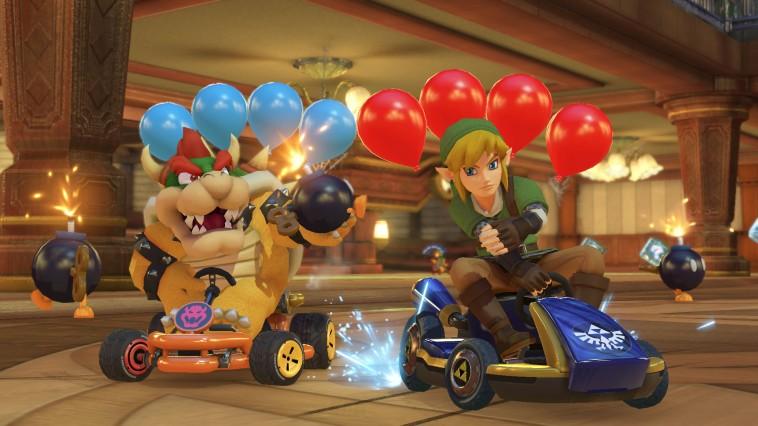 Mario Kart 8 Deluxe ballons