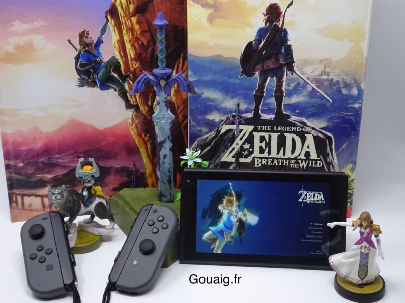 Comment se mettre bien pour gamer à Zelda BOTW :-)