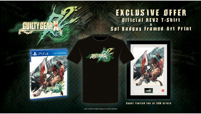 Guilty Gear Xrd REV2 limited edition-642x364