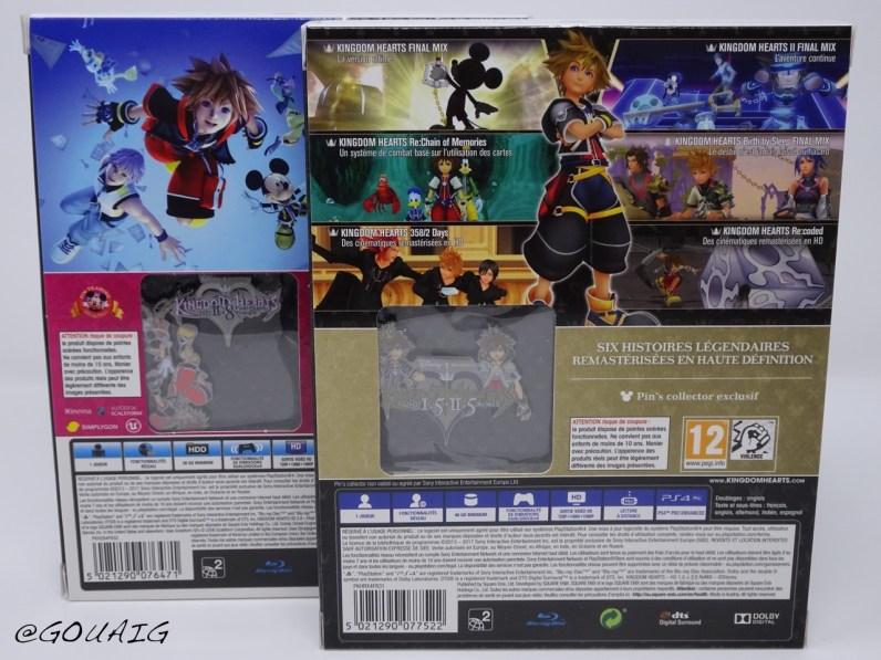 Unboxing Kingdom Hearts 1.5 2.5 HD Edition limitée - Gouaig - 3