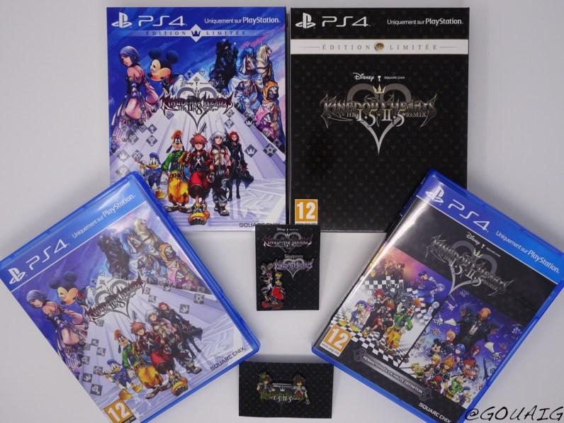 Unboxing Kingdom Hearts 1.5 2.5 HD Edition limitée - Gouaig - 9