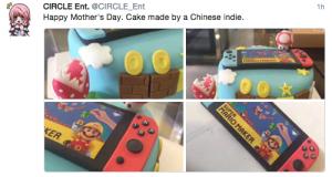 Gateau Nintendo Switch