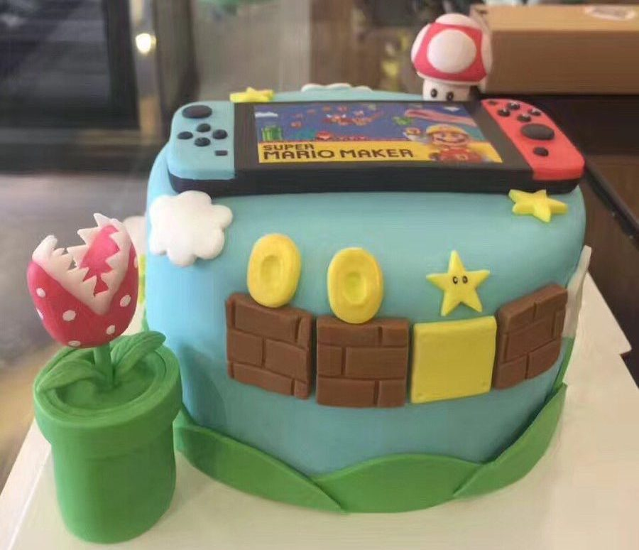 Nintendo Switch cake