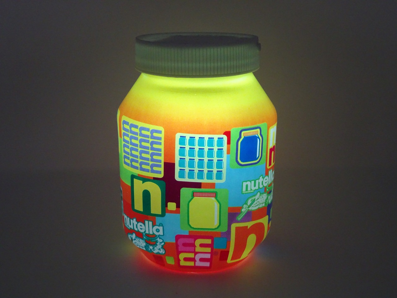 Unboxing ma lampe nutella est arriv e surprise - Lampe pot de nutella ...