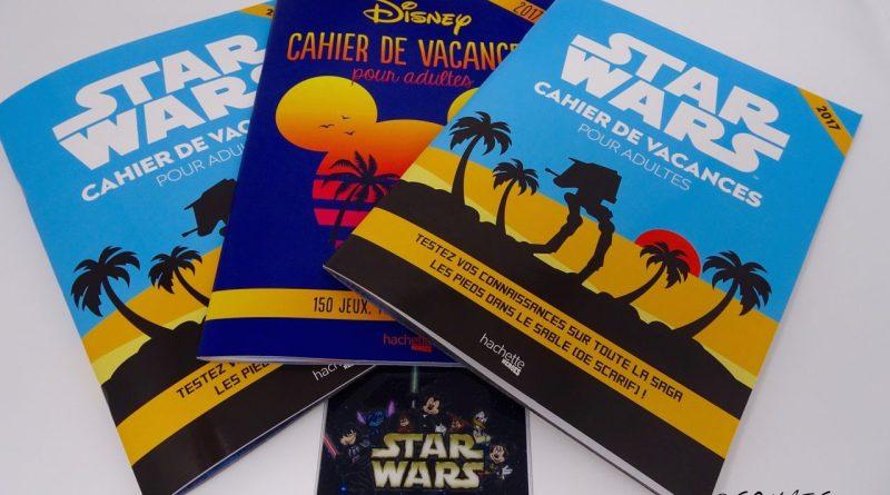 Cahier de vacances pour adultes Disney Star Wars
