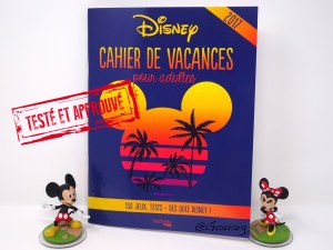 Cahier de vacances Disney