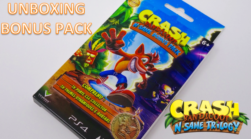 Bonus Pack Crash Bandicoot