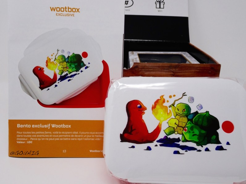 unboxing Wootbox