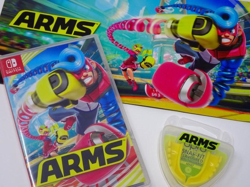 Arms Nintendo Switch presskit