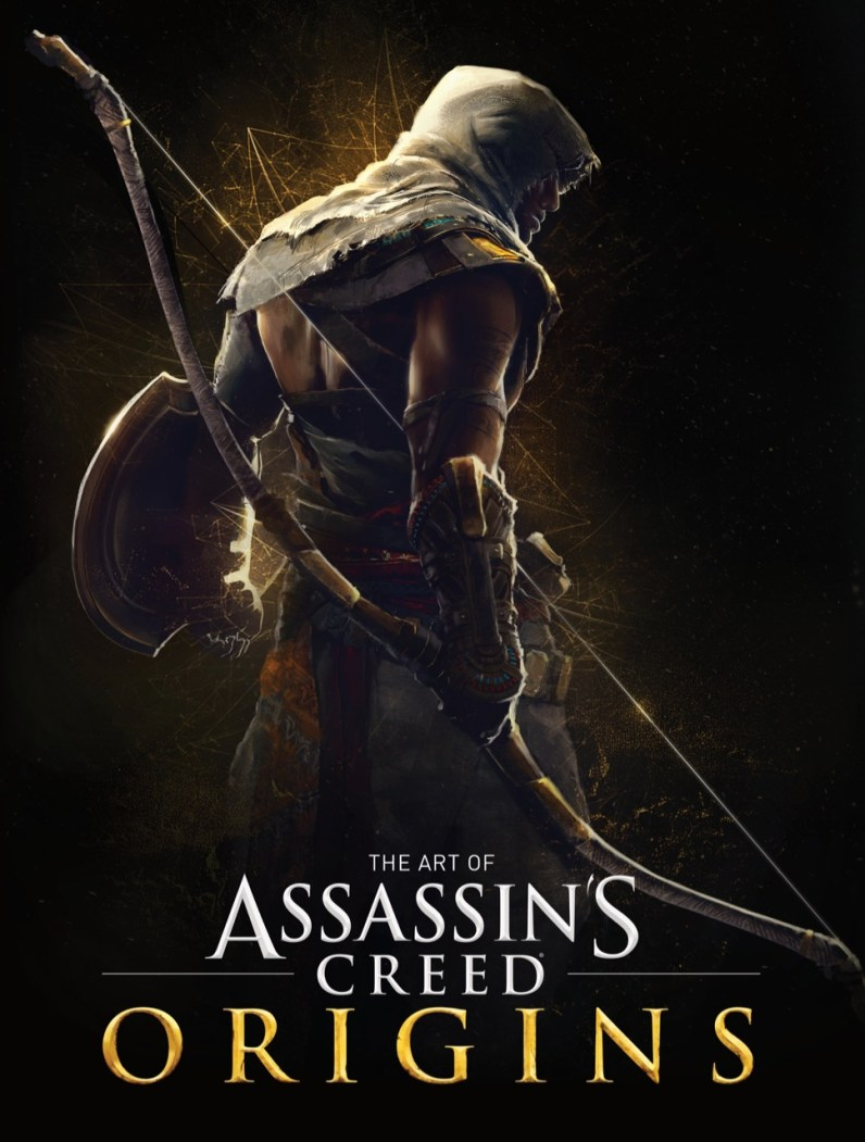 Couverture Art Book Assassin's Creed Origins