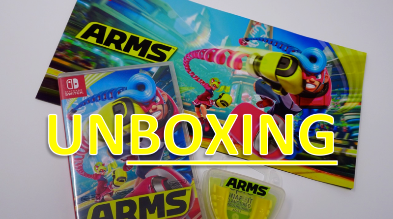 Unboxing Press Kit Arms