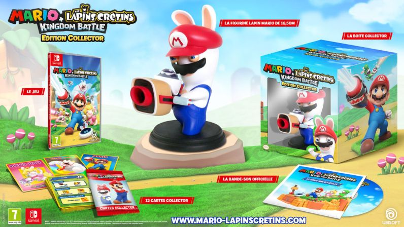 Collector Mario The lapins crétins kingdom battle Edition Collector