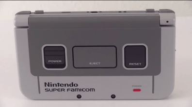 New Nintendo 3DS XL SNES Edition dessus