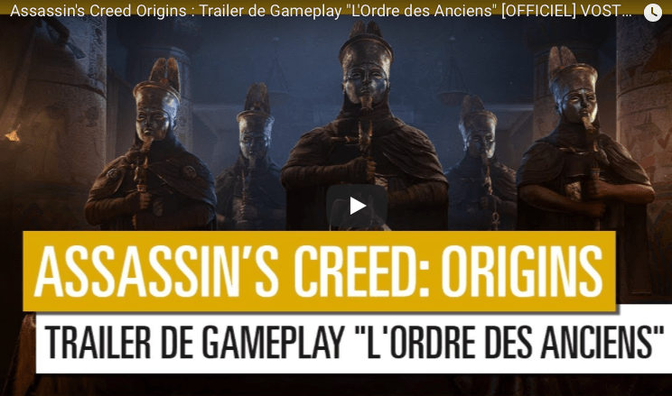 Asssassin's Creed Origins