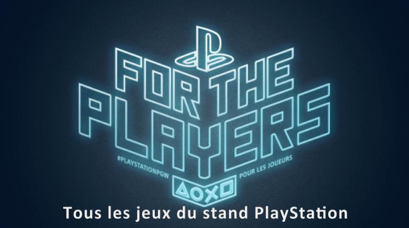 stand PlayStationPGW