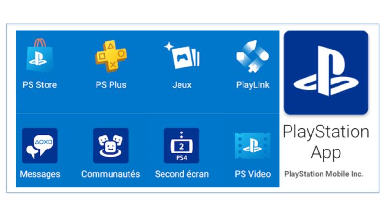 Mise à jour Playstation App