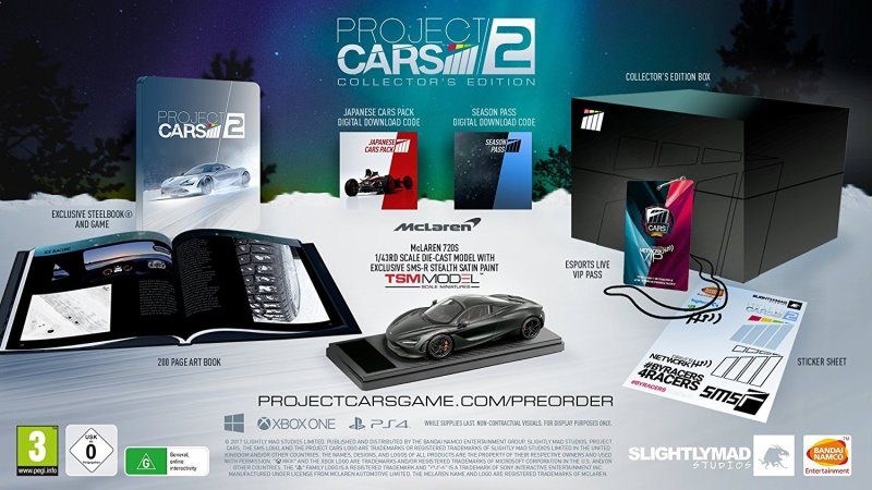 collector project cars 2
