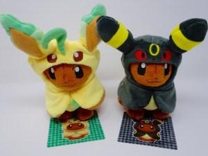 Phyllali et Noctali Pokémon Dolls