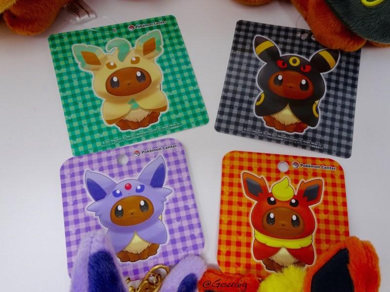 Pokemon Phyllali Noctali Mentali et Pyroli Pokémon Dolls