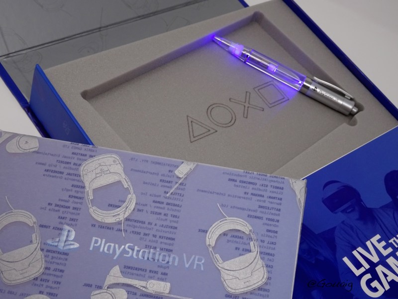 Unboxing Press kit PSVR