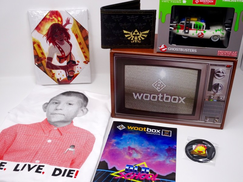Unboxing wootbox janvier