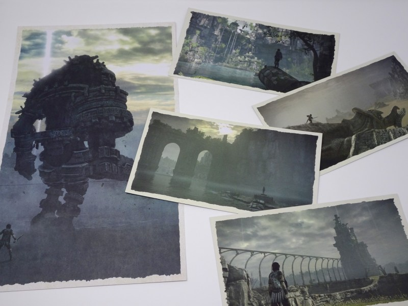 Unboxing Press Kit Shadow of the Colossus