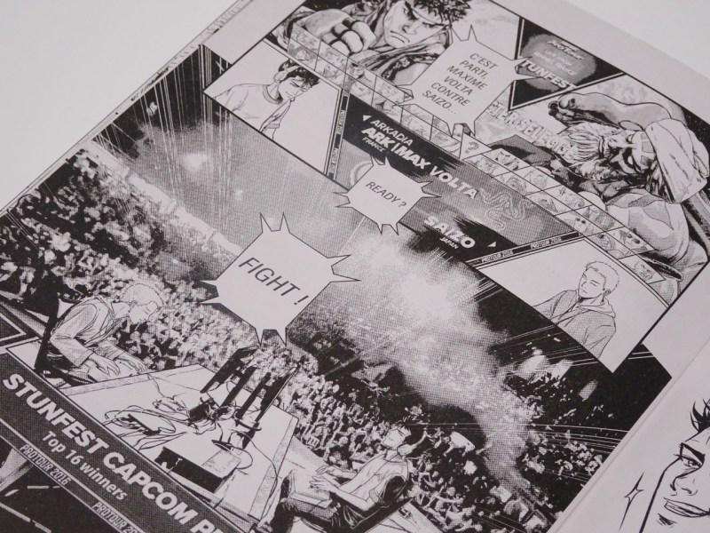 Avis Manga Versus Fighting Story