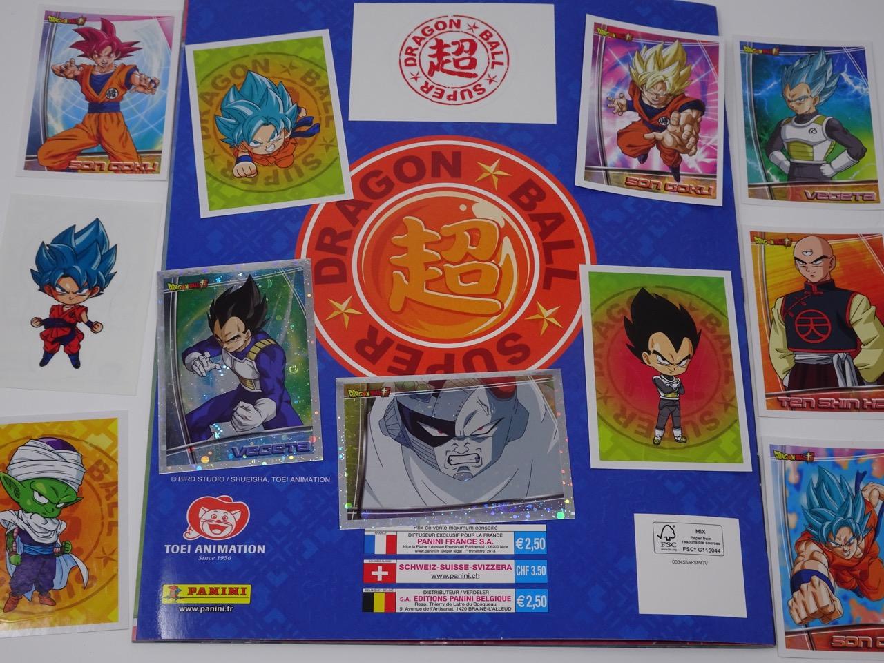 Autocollant stickers Panini pour Album Dragon ball Super DBS sticker n°53