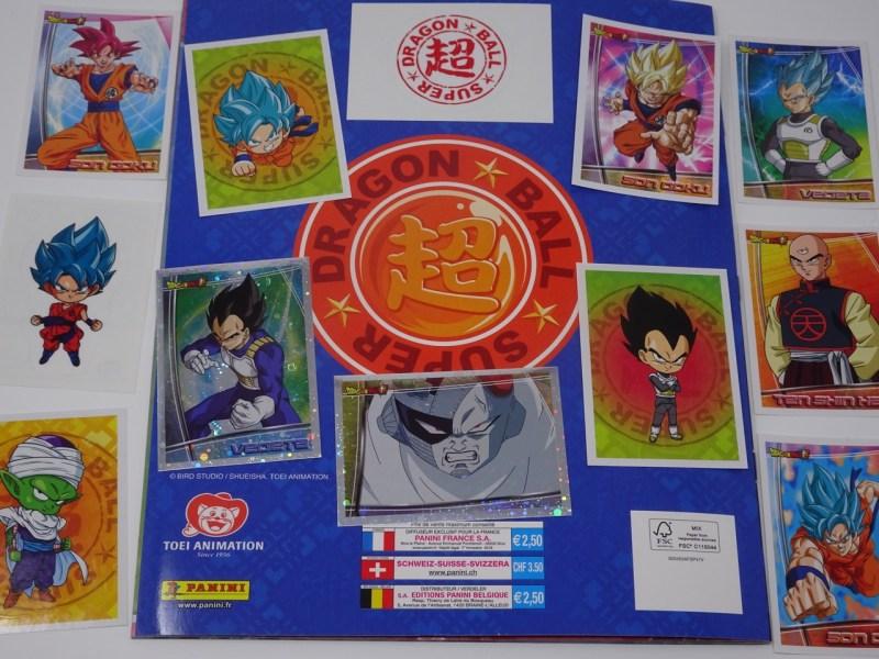 Autocollant stickers Panini pour Album Dragon ball Super DBS sticker n°118