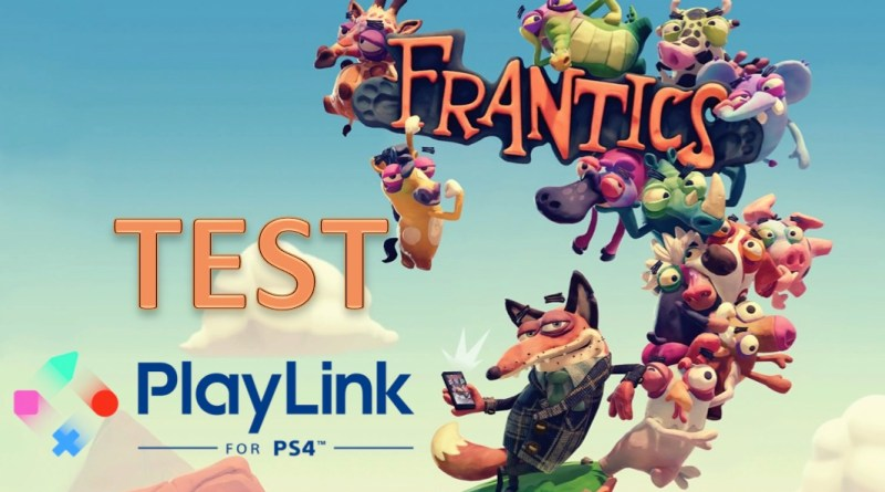 Test Frantics PlayLink PS4
