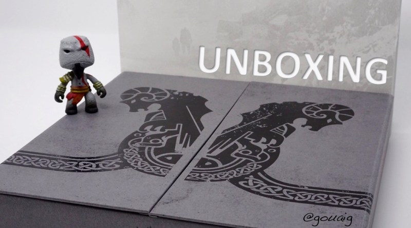 [Unboxing] Press Kit God of War PS4 – Collector !
