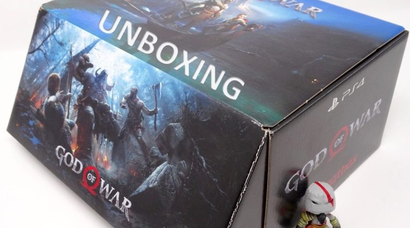 Unboxing Wootbox God Of War Brutal