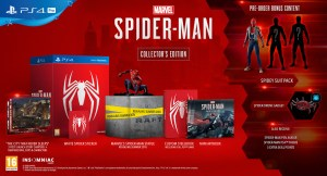 collector spiderman PS4