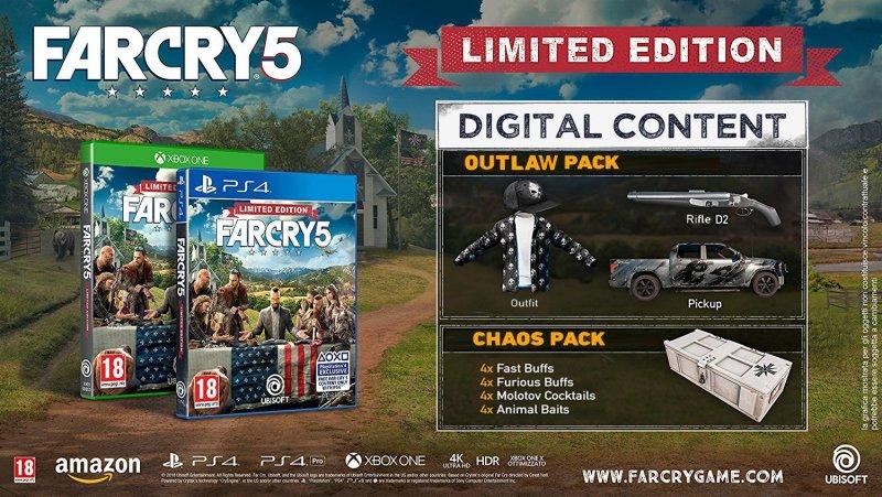 édition limitée Far Cry 5