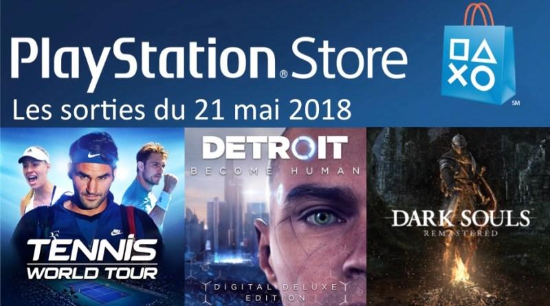 MAJ Playstation Store 21 mai