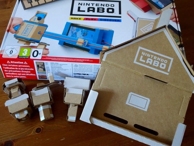 Test Nintendo Labo Maison Gouaig