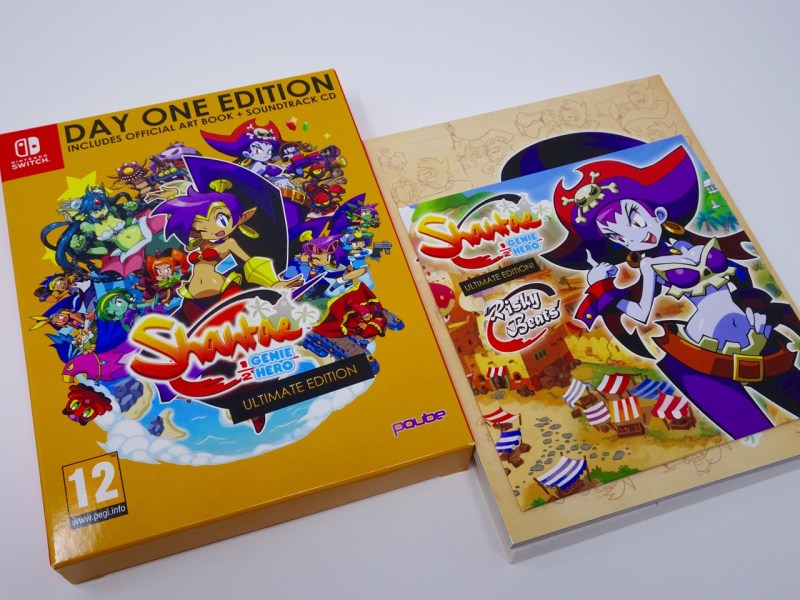 Unboxing Shantae Half Genie Hero Ultimate - Day One Edition - Gouaig -1