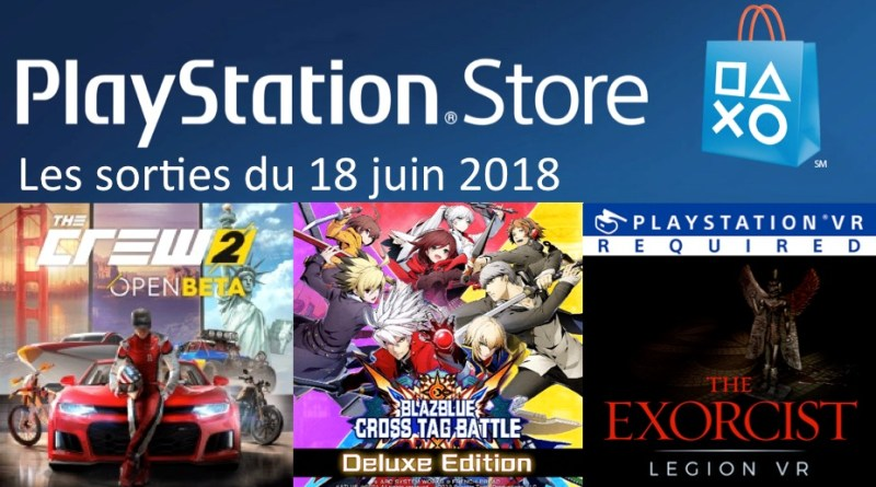MAJ Playstation Store