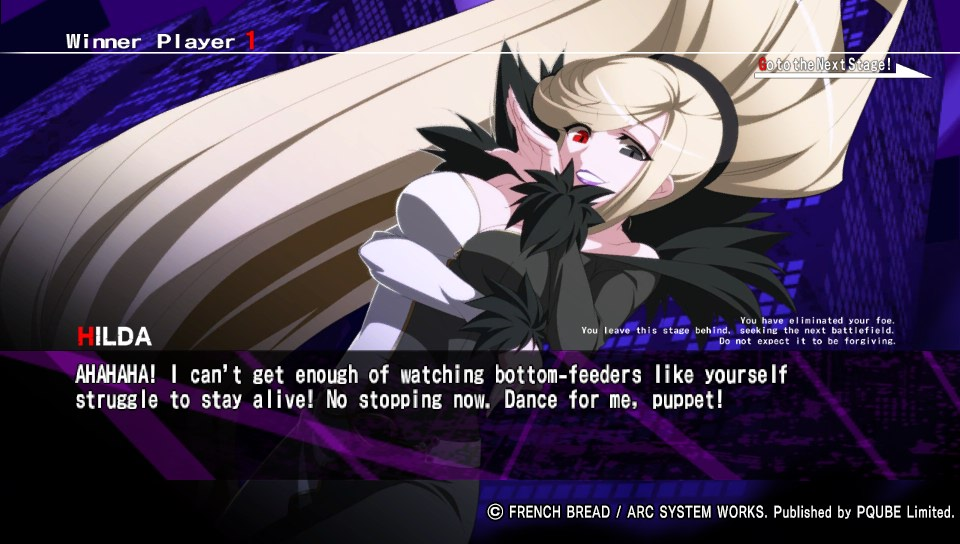 Test Under Night in Birth Exe Latest