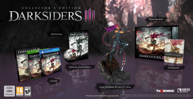 Darksiders 3 Collector